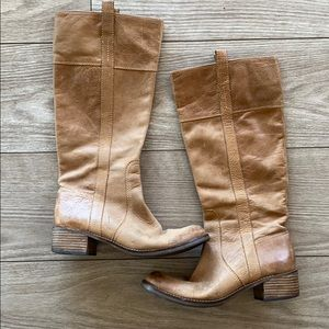 Lucky Brand Hibiscus Riding Boot